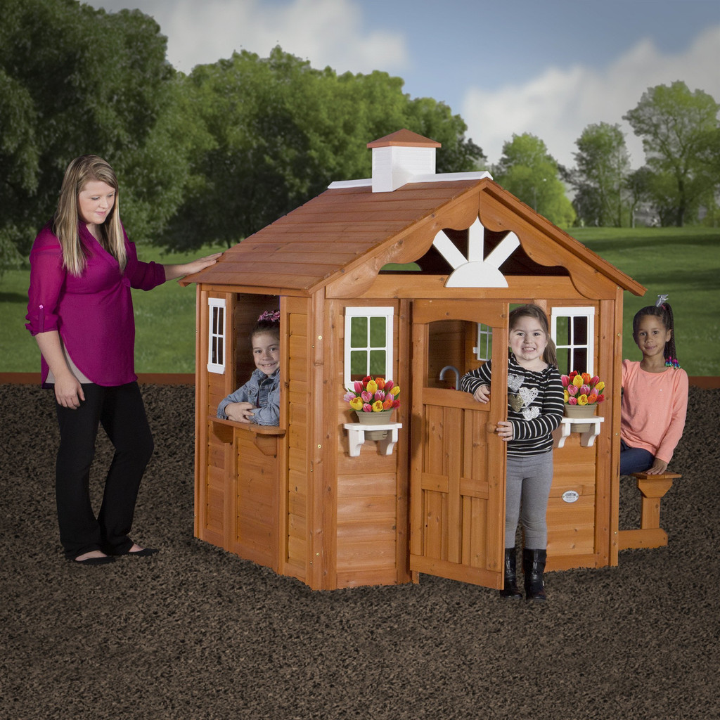Backyard Discovery Summer Cottage Playhouse: Kid's Perfect ...