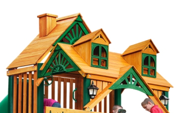 Gorilla Playsets Treasure Trove Swing Set Brings The Playground To You