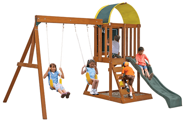 Cedar Summit Ainsley Swing Set