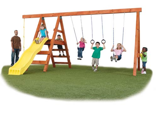 Pioneer-Deluxe-Swing-Set-Kit