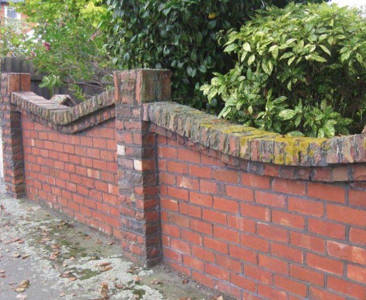 brick-fence