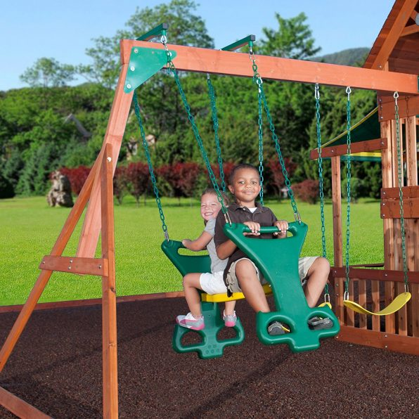 Backyard Discovery Saratoga Cedar Swing Set