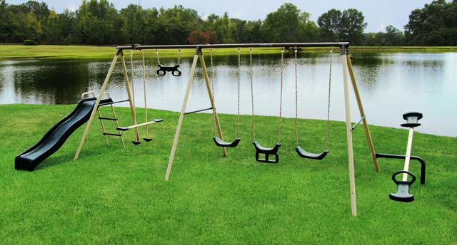 7 Flexible Flyer Metal Swing Sets Which Is Right For You