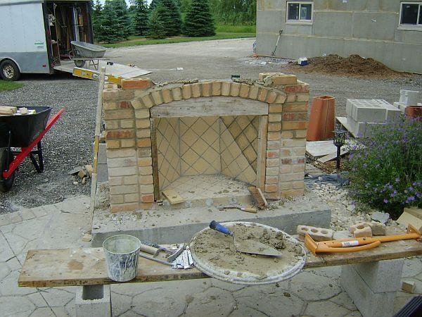 Masonry Fireplace Kit