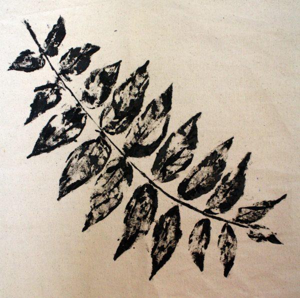 Backyard Arts and Crafts: Leaf Printing