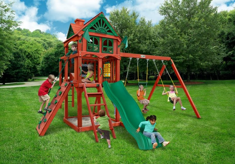 Which Gorilla Playsets Five Star Ii Swing Set Is Right For My Yard