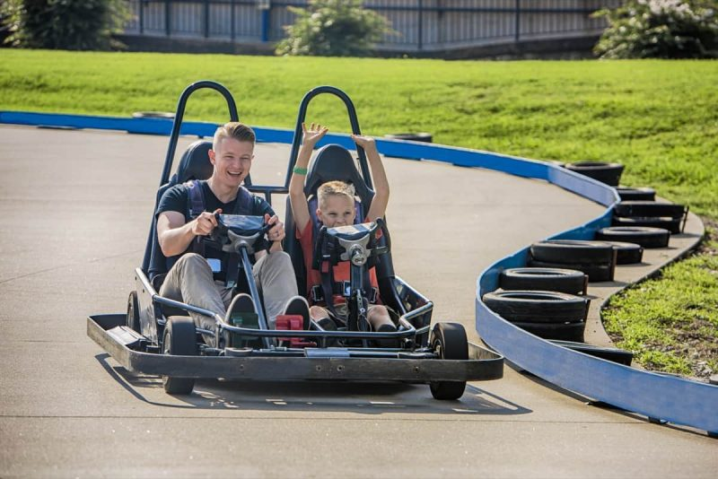 Go-Karts with Dad