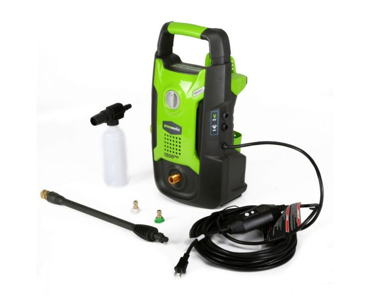 1500-PSI 13 Amp 1.2-GPM Electric Pressure Washer by Greenworks