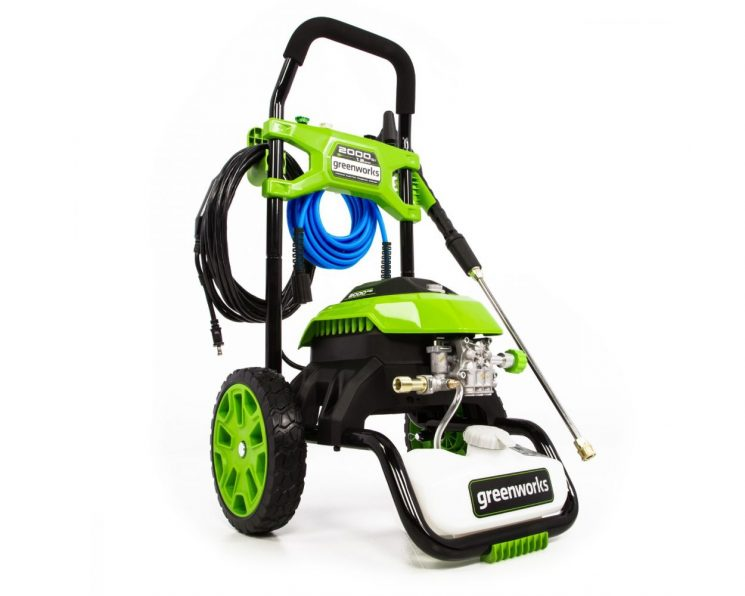 2000-PSI 14 Amp 1.2-GPM Electric Pressure Washer by Greenworks