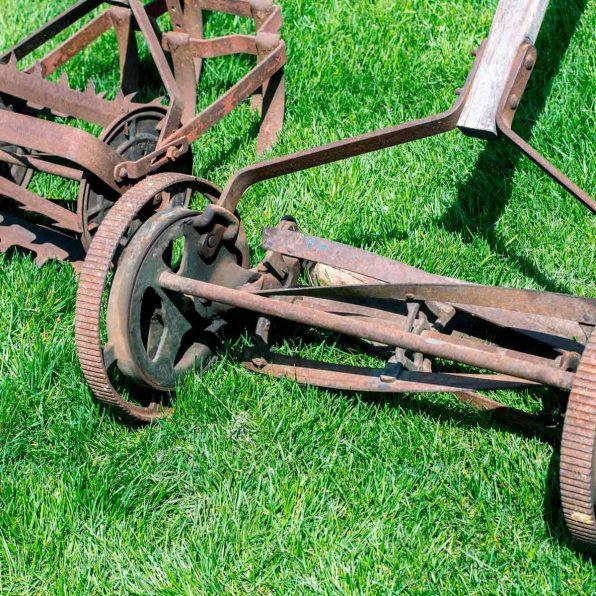 Rusty Reel Mower