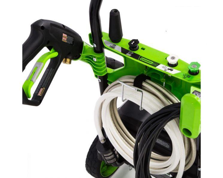 60V 1800-PSI 1.1-GPM Hybrid AC/DC Pressure Washer handle