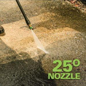 Pressure washer nozzle