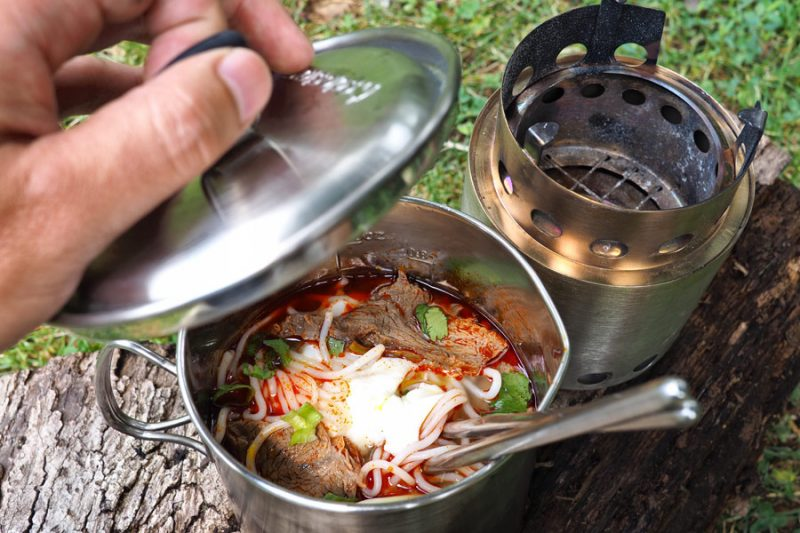 Solo Stove Camp Stove Cooking Food