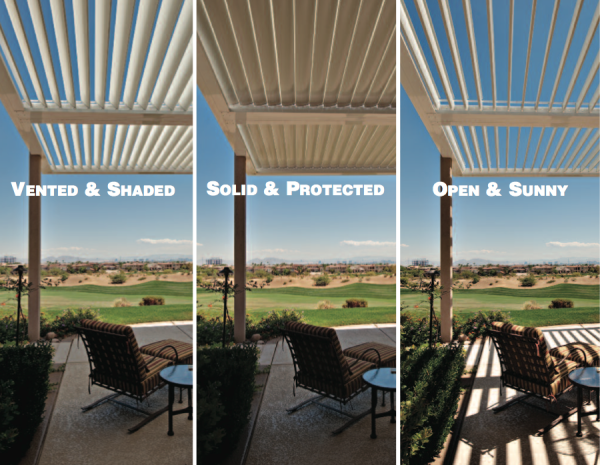 Louvered Roof Levels