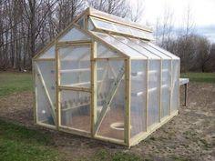 Mittleider Greenhouse