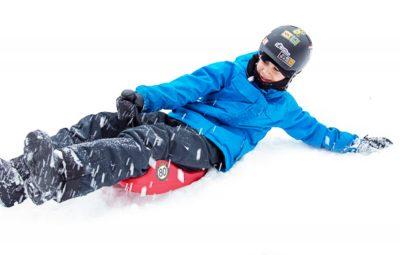 Kid on the Zipfy Sled